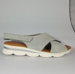 The Flexx Stone Suede Platform Sandal
